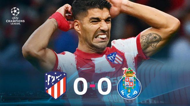 Resultado Atlético de Madrid - Oporto