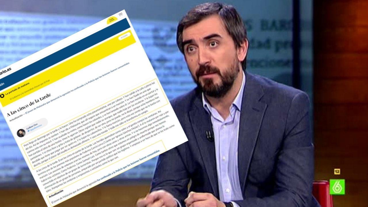 Nacho Escolar y artículo eliminado de su digital.