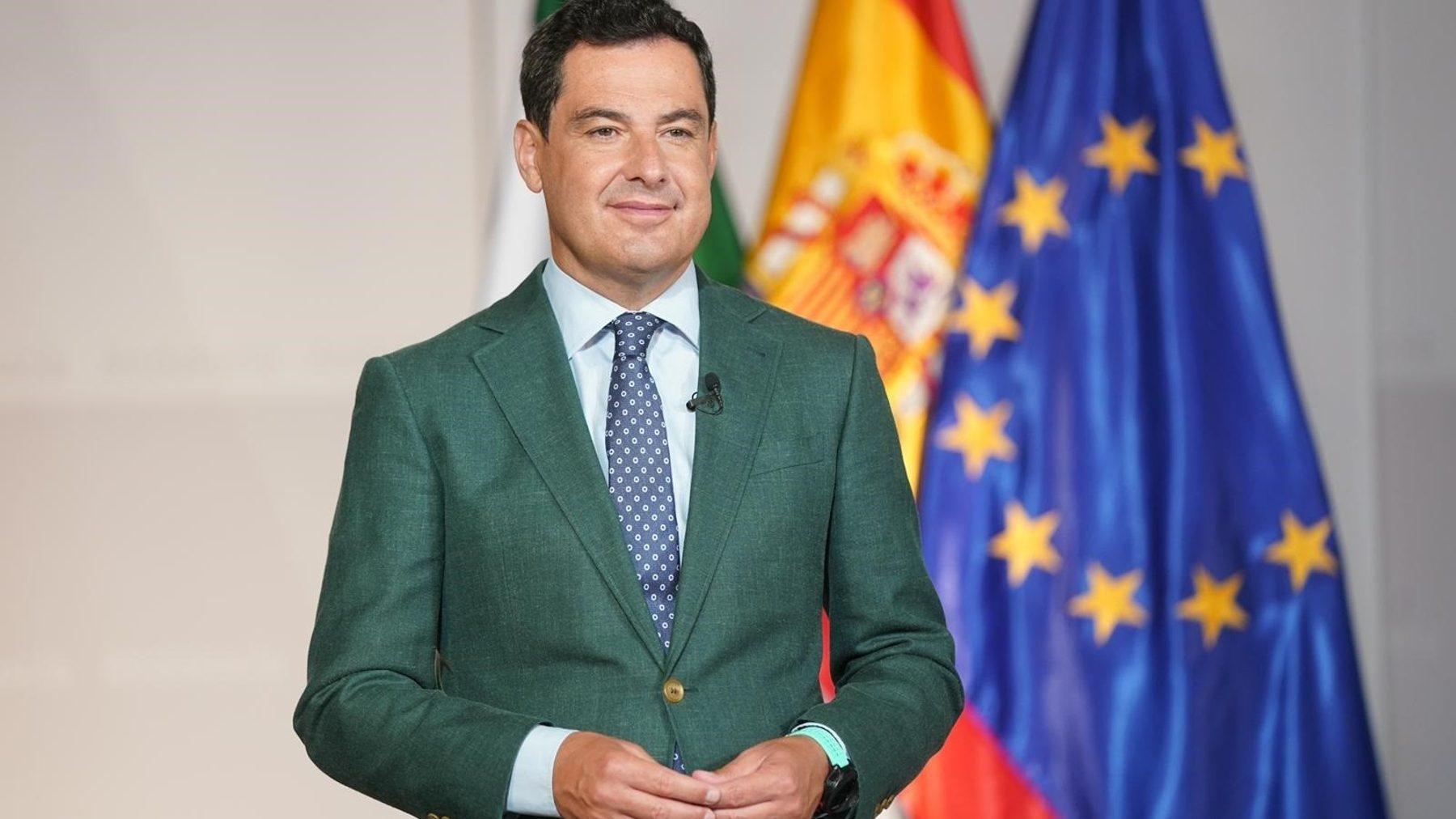 Juanma Moreno, presidente de la Junta (JUNTA DE ANDALUCÍA).