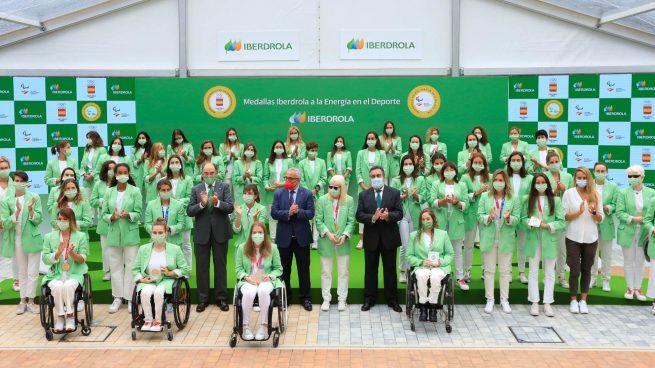 Ignacio Galán anuncia el apoyo de Iberdrola a las olímpicas y paralímpicas españolas en París 2024