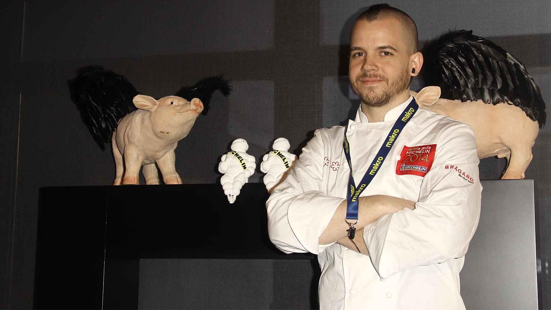 El cocinero David Muñoz, del Restaurante DiverXo