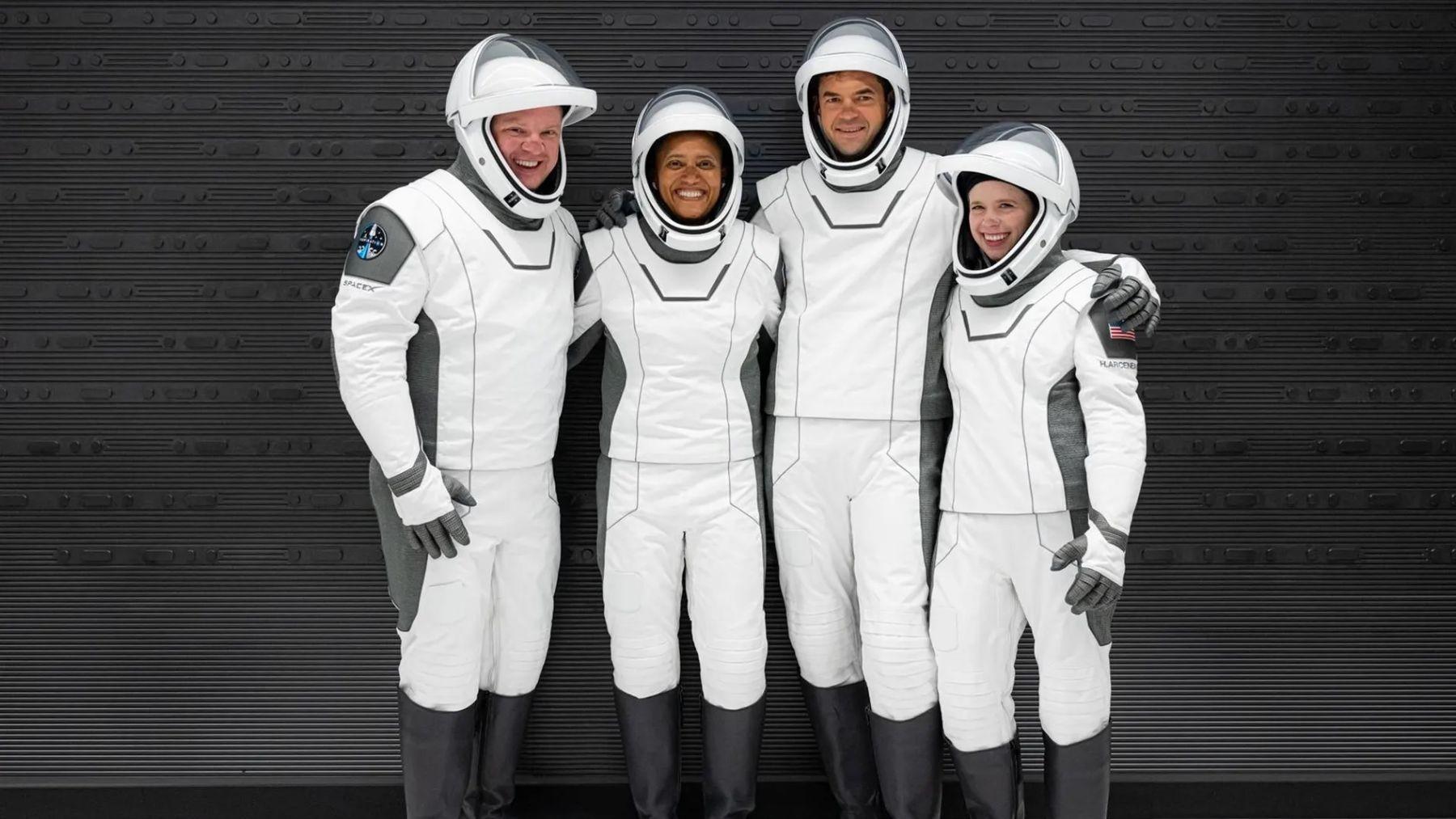 La tripulación de Inspiration4 ya está en órbita