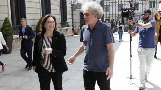 Ada Colau y Marcelo Expósito en imagen de archivo.