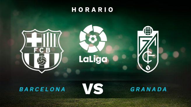 Barcelona – Granada: en qué canal TV y dónde ver online en directo el partido de Liga Santander de hoy