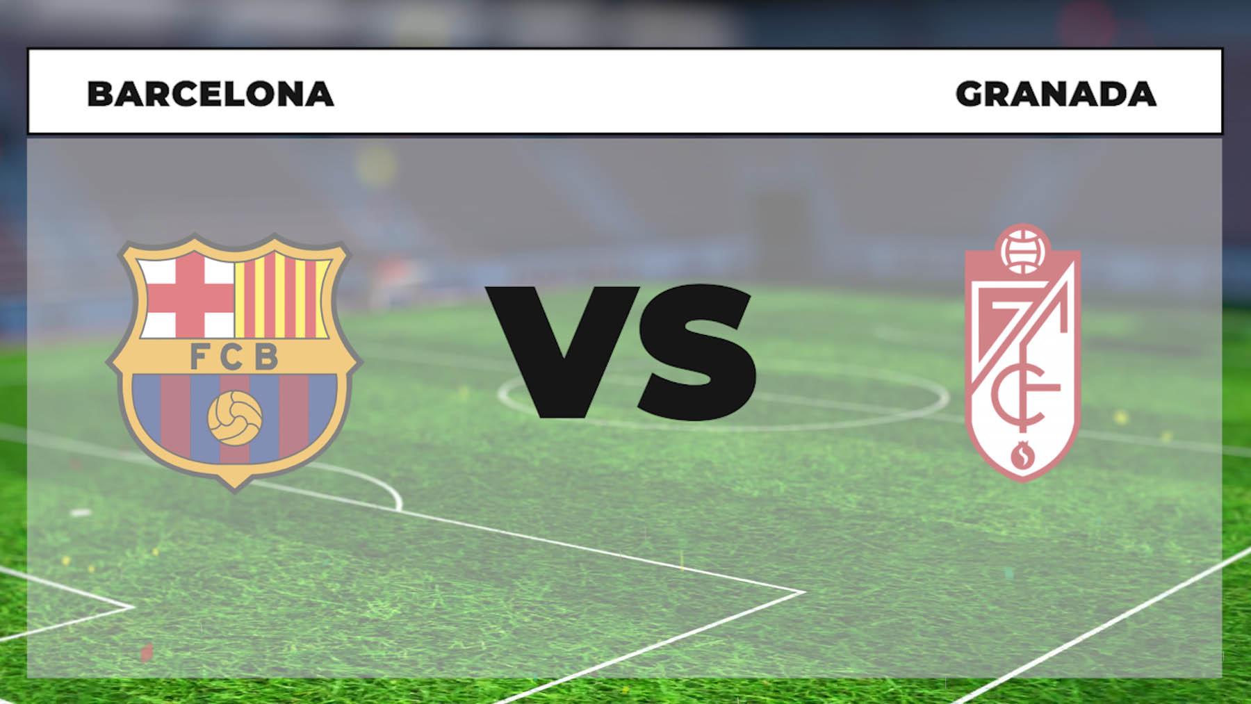 Barcelona – Granada: hora, canal TV y dónde ver online en directo el partido de Liga Santander.
