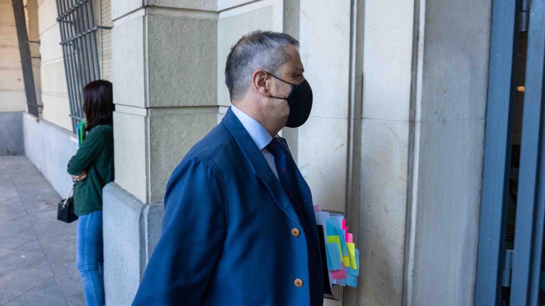 El exdirector de la empresa Mercasevilla, Fernando Mellet.
