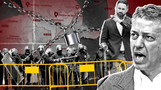 Urkullu blinda Mondragón con más de 100 ertzainas ante el riesgo de nuevos ataques proetarras a Abascal