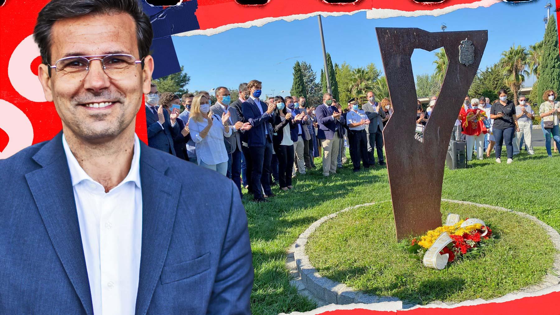El PSOE da la espalda a las víctimas de ETA: el alcalde de Granada, Francisco Cuenca, no acude al acto en su ciudad.