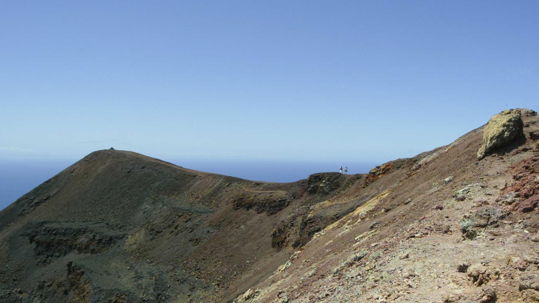 Cumbre Vieja en la isla de La Palma. Foto: Europa Press.