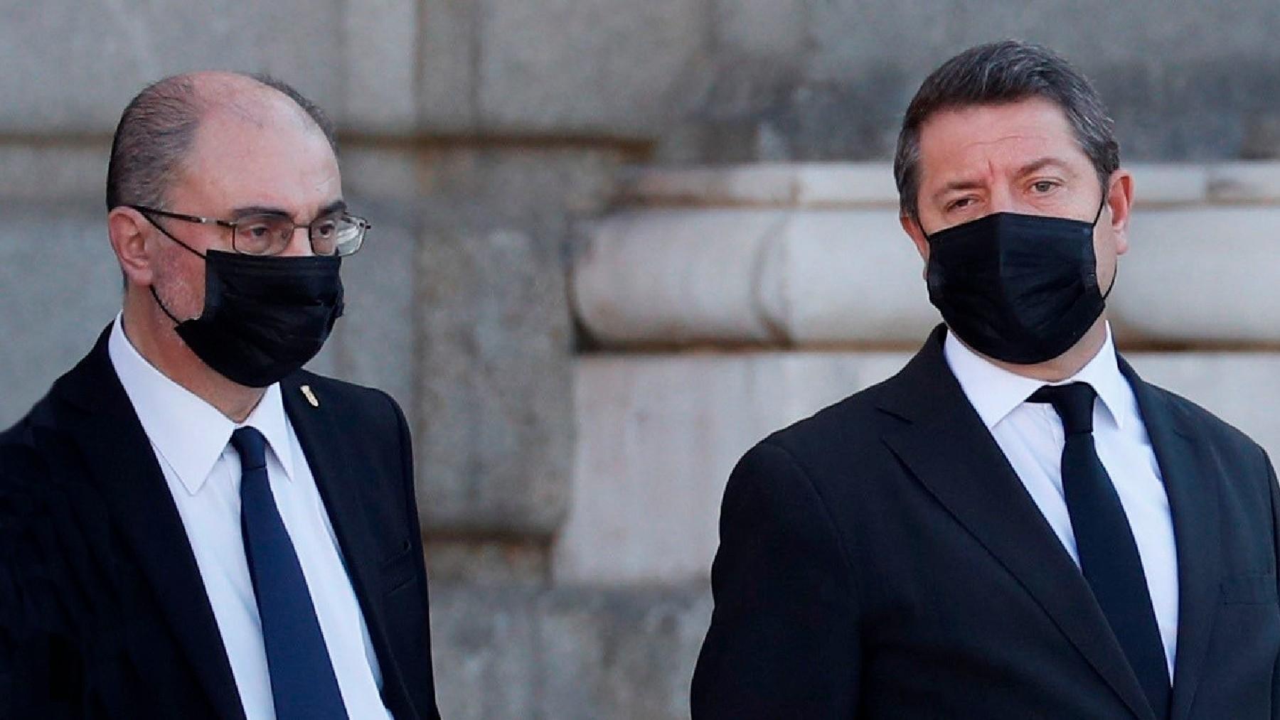 Los barones socialistas Javier Lambán y Emiliano García-Page. (Foto: EP)