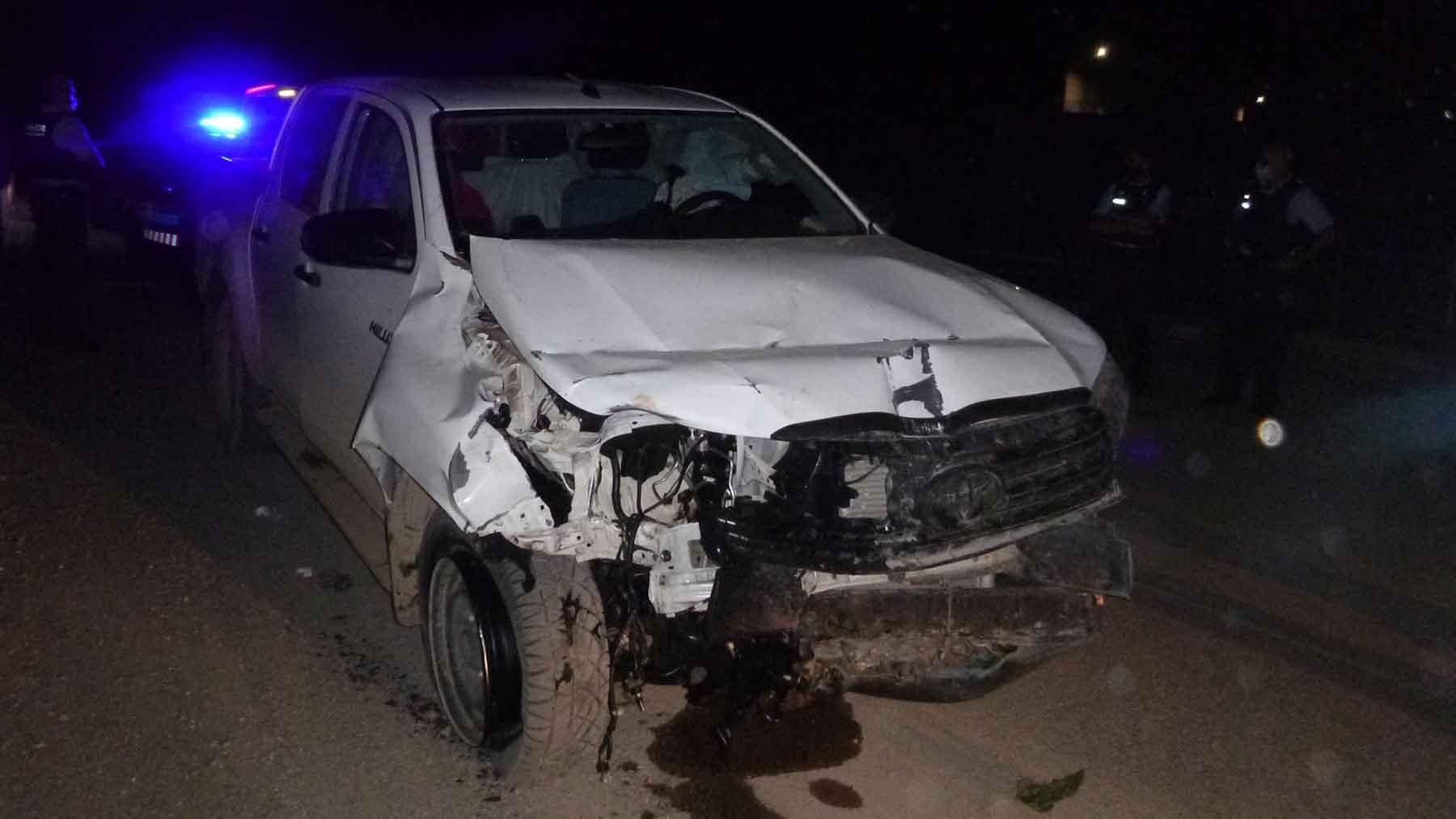 El coche del autor del doble homicidio. Foto: Europa Press
