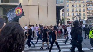 Manifestación Neonazis Chueca