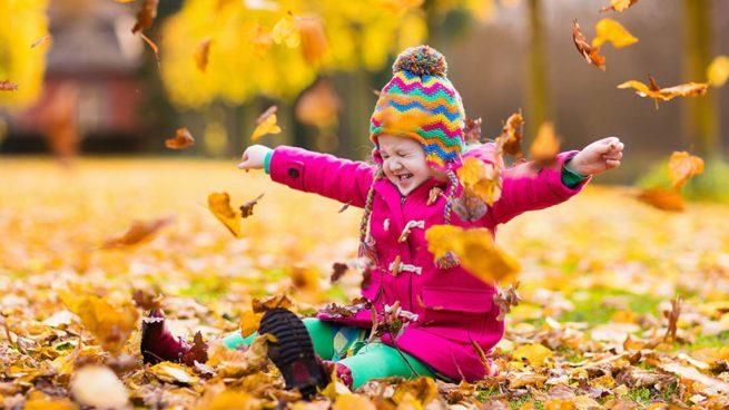 actividades otoño parque niños