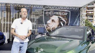 """Eduardo Ajuria (Peugeot):""""Tenemos el 70% de nuestra gama de vehículos con una versión electrificada y en el año 2025 será del 100%""""."""