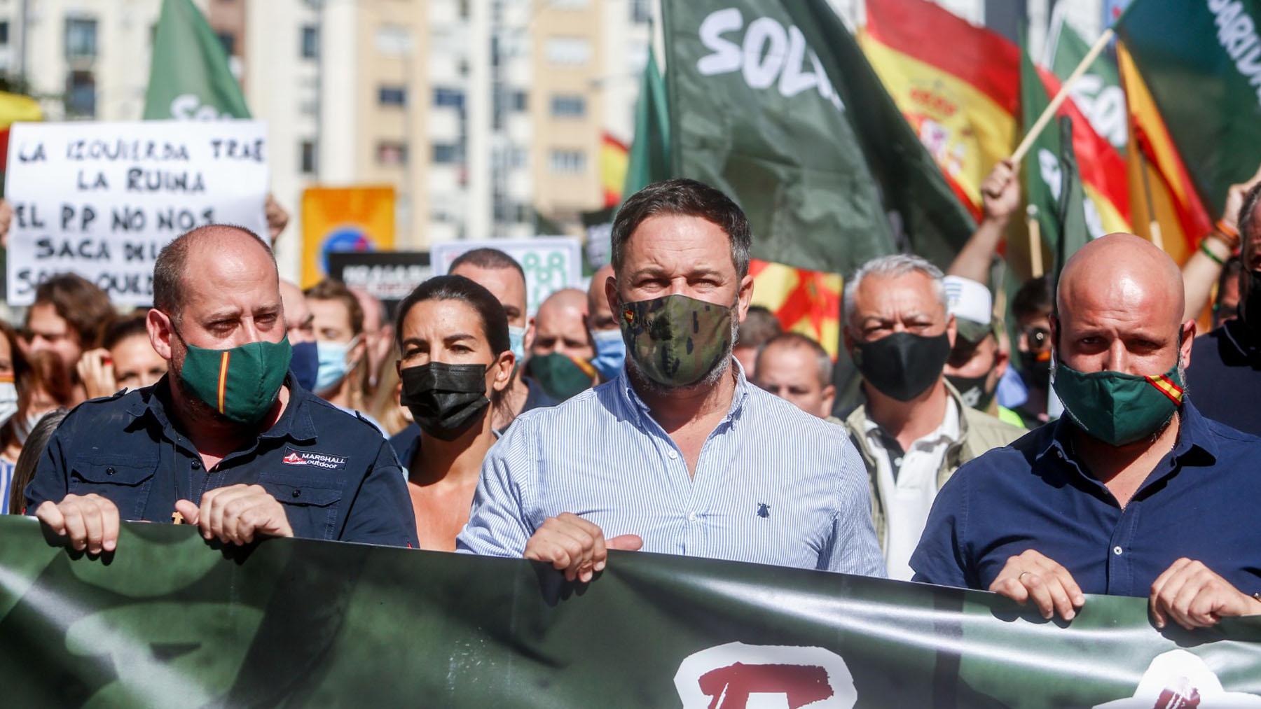 Manifestación del sindicato Solidaridad en Madrid contra la subida de la luz. (Imagen: Paco Toledo)