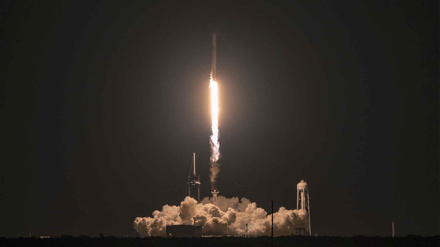 La nave SpaceX Dragon