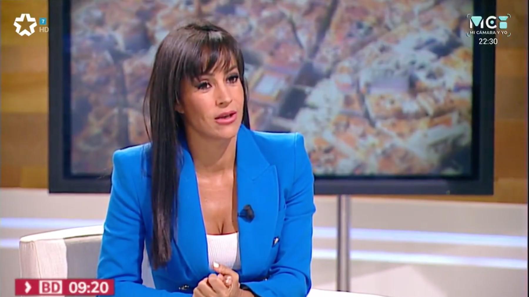 La vicealcaldesa de Madrid, Begoña Villacís, en 'Telemadrid'.
