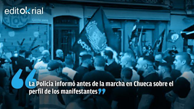 A Sánchez le convenía que un grupo de deleznables nazis apuntalara su bulo del odio