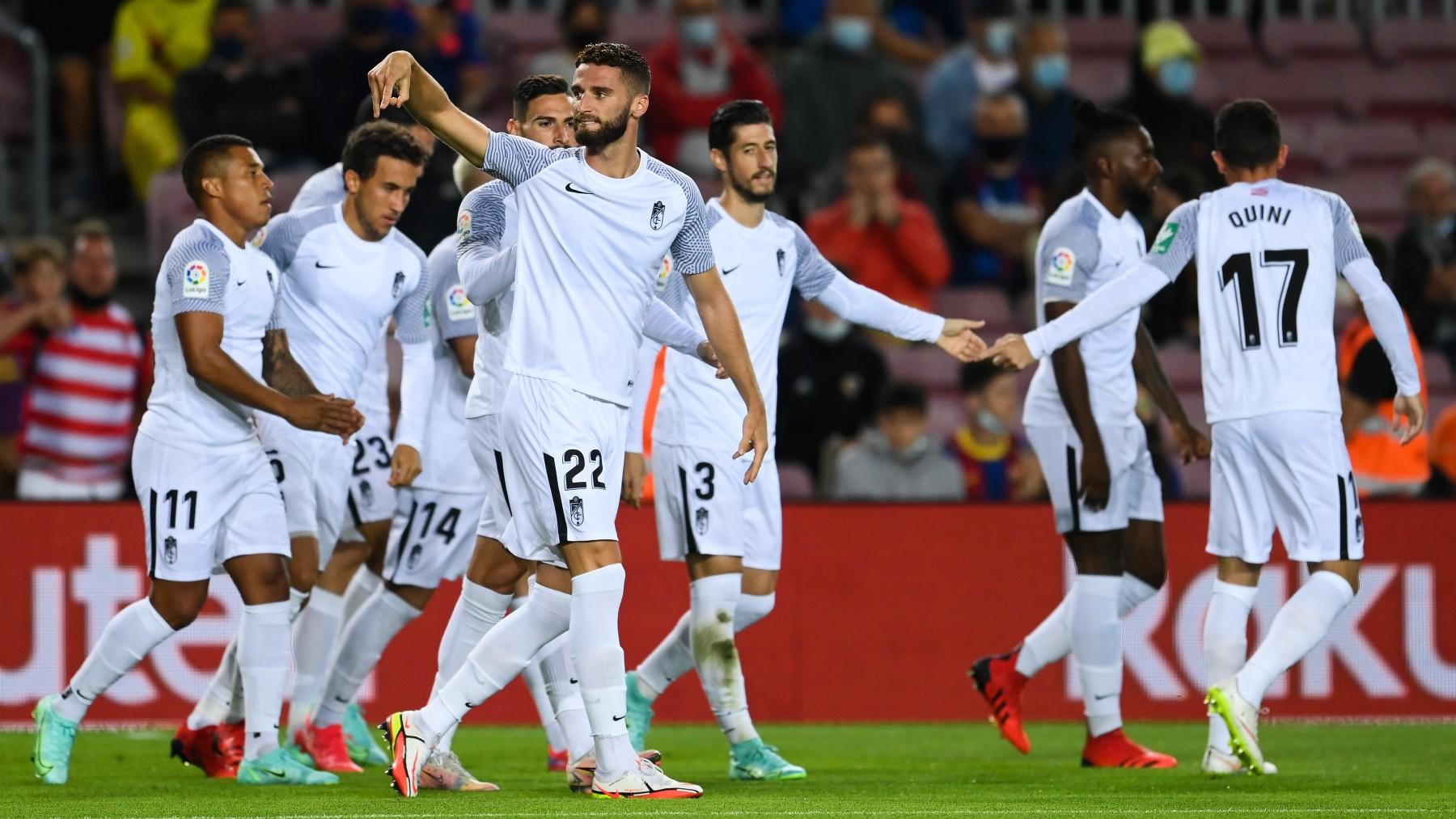 Barcelona – Granada: Liga Santander, en directo. (AFP)