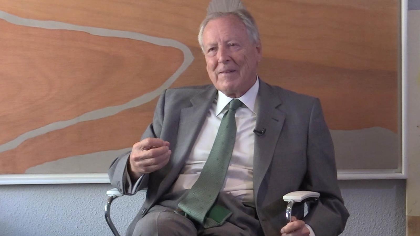 José María Álvarez del Manzano, ex alcalde de Madrid.