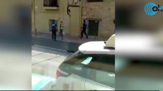 Noelia de Mingo acuchilla a dos personas en El Molar