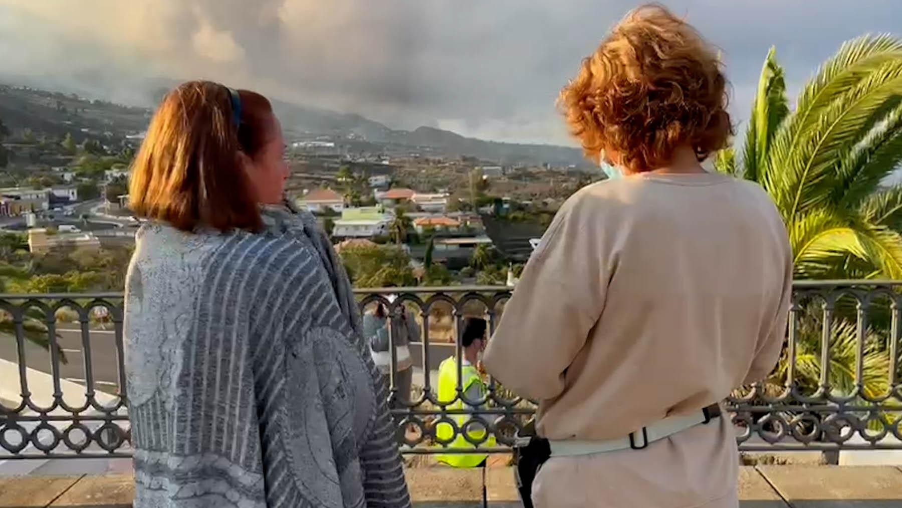 Vecinos de La Palma.