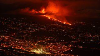 Erupción del volcán de La Palma, en directo