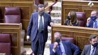Bronca en el Congreso de los Diputados