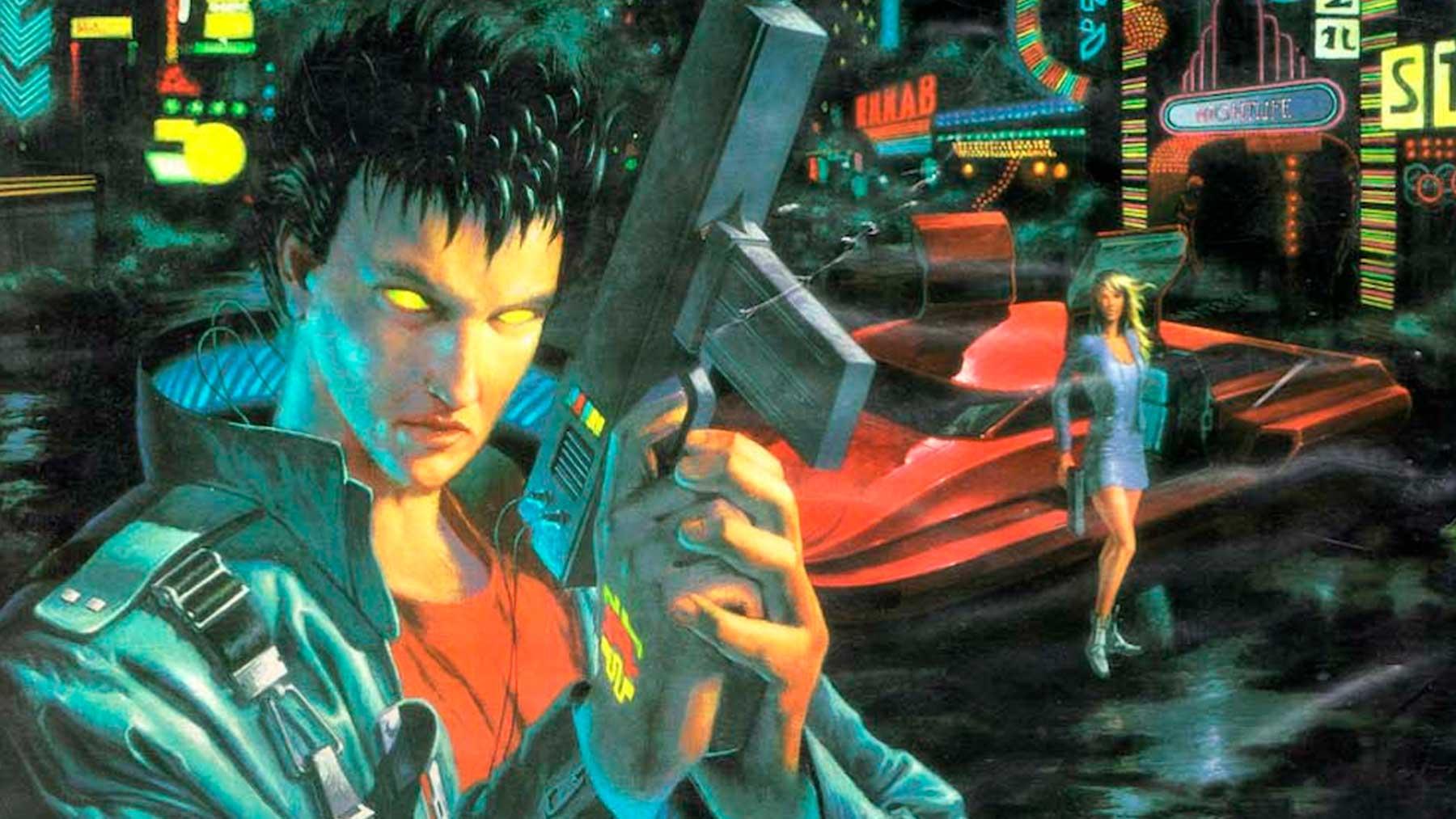 La portada de la edición en castellano de 'Cyberpunk 2020', publicada en 1993.