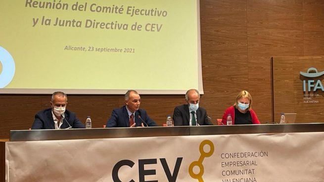 Reunión del Comité Ejecutivo y Junta Directiva de la CEV