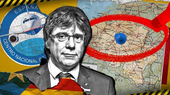 El CNI tenía marcado a Puigdemont en Bélgica y cuando subió al avión se dio aviso a Italia