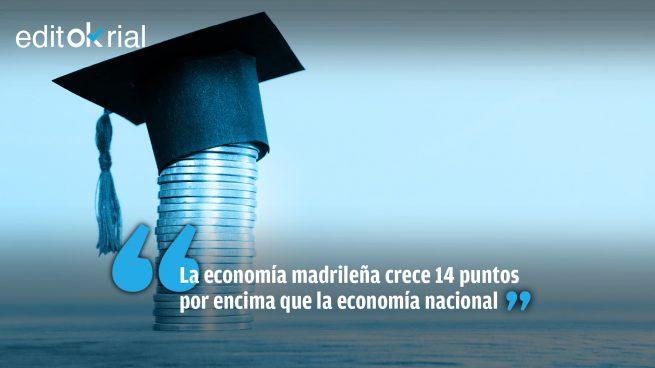 Lección de economía de Ayuso a Pedro Sánchez