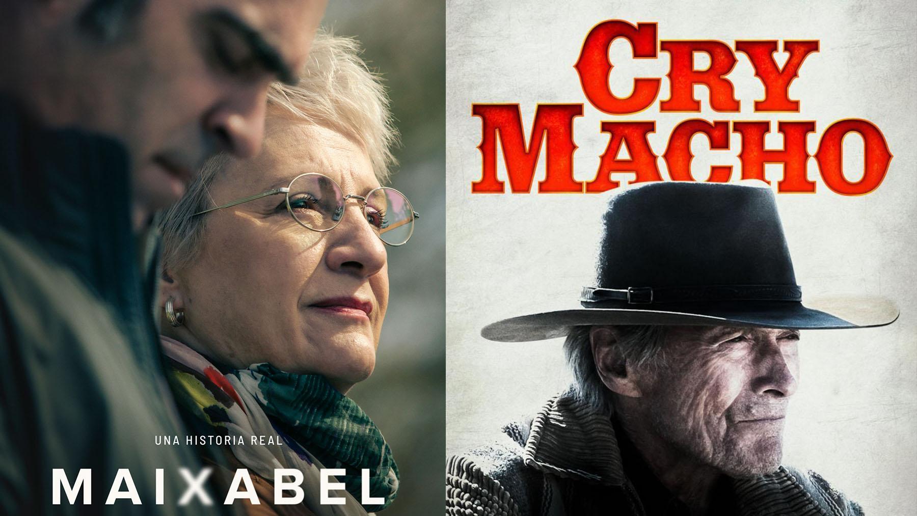 «Maixabel» (TVE,MOVISTAR+) y «Cry Macho» (Warner Bros Pictures)