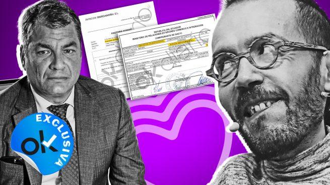 Un asesor de Echenique y cargos de Podemos aparecen en otra tapadera que cobró 1,4 millones de Ecuador