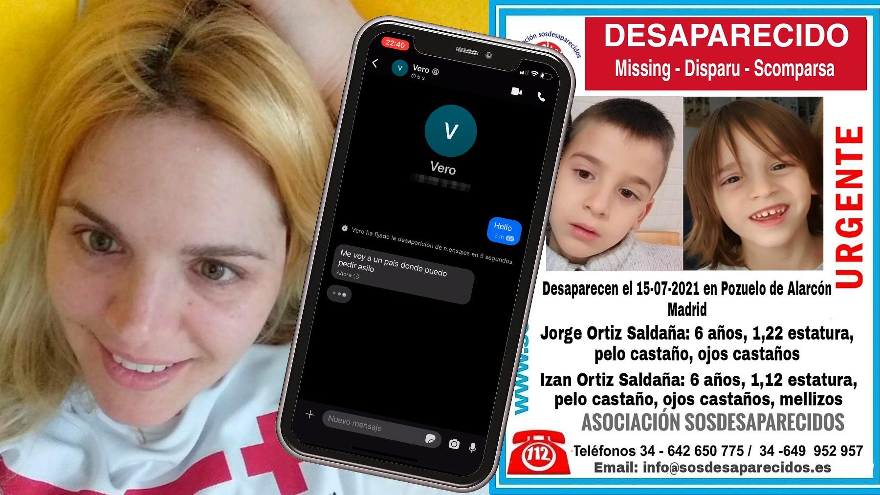 Verónica Saldaña y los niños desaparecidos.