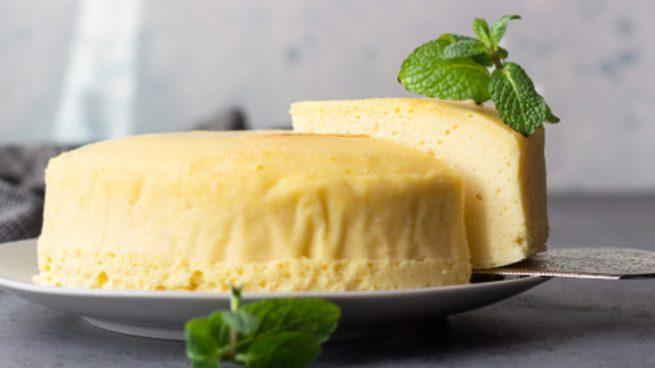 Tarta de Queso-Souflé, receta para un dulce esponjoso fácil de preparar