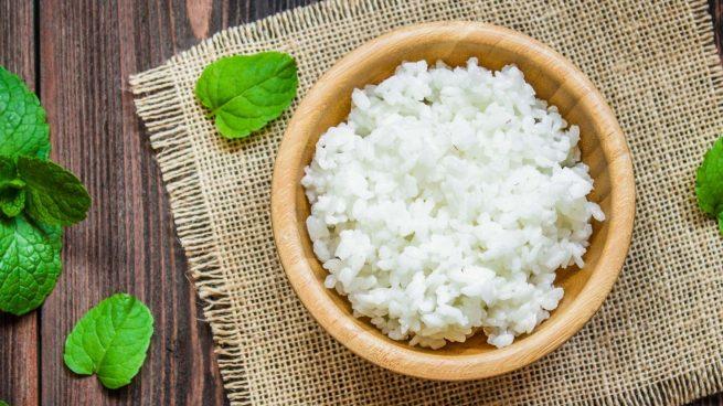 arroz blanco en olla exprés