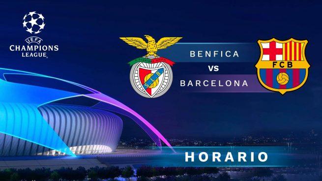 benfica barcelona dónde ver el partido de Champions League