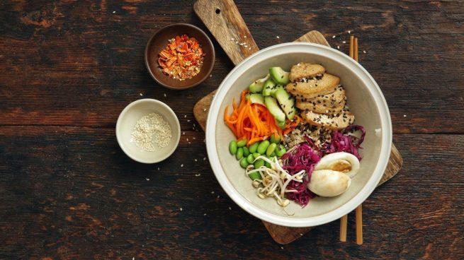 poke bowl de tofu