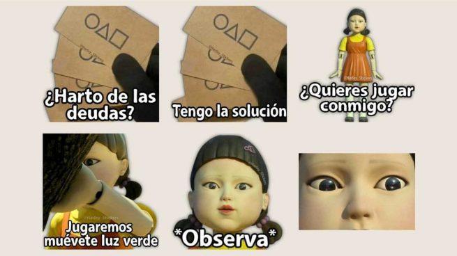 Stickers El Juego del Calamar