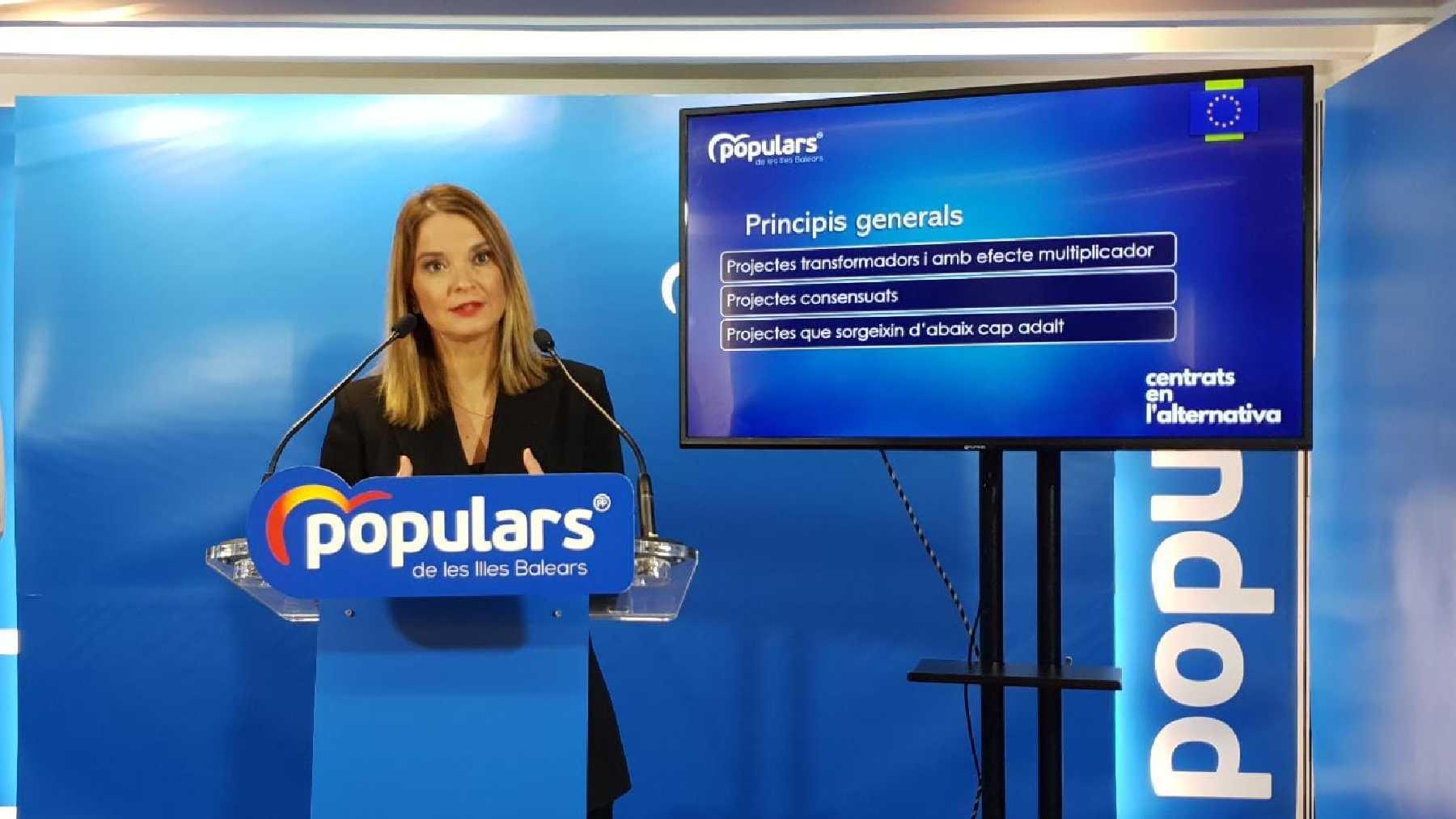 La presidenta del PP de Baleares, Marga Prohens.