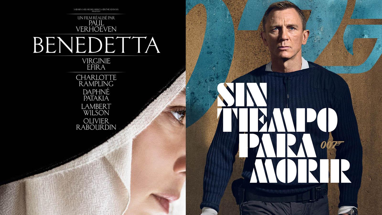 «Benedetta» (Pathé) y «Sin tiempo para morir» (MGM) son dos de las propuestas más interesantes de los estrenos de este fin de semana