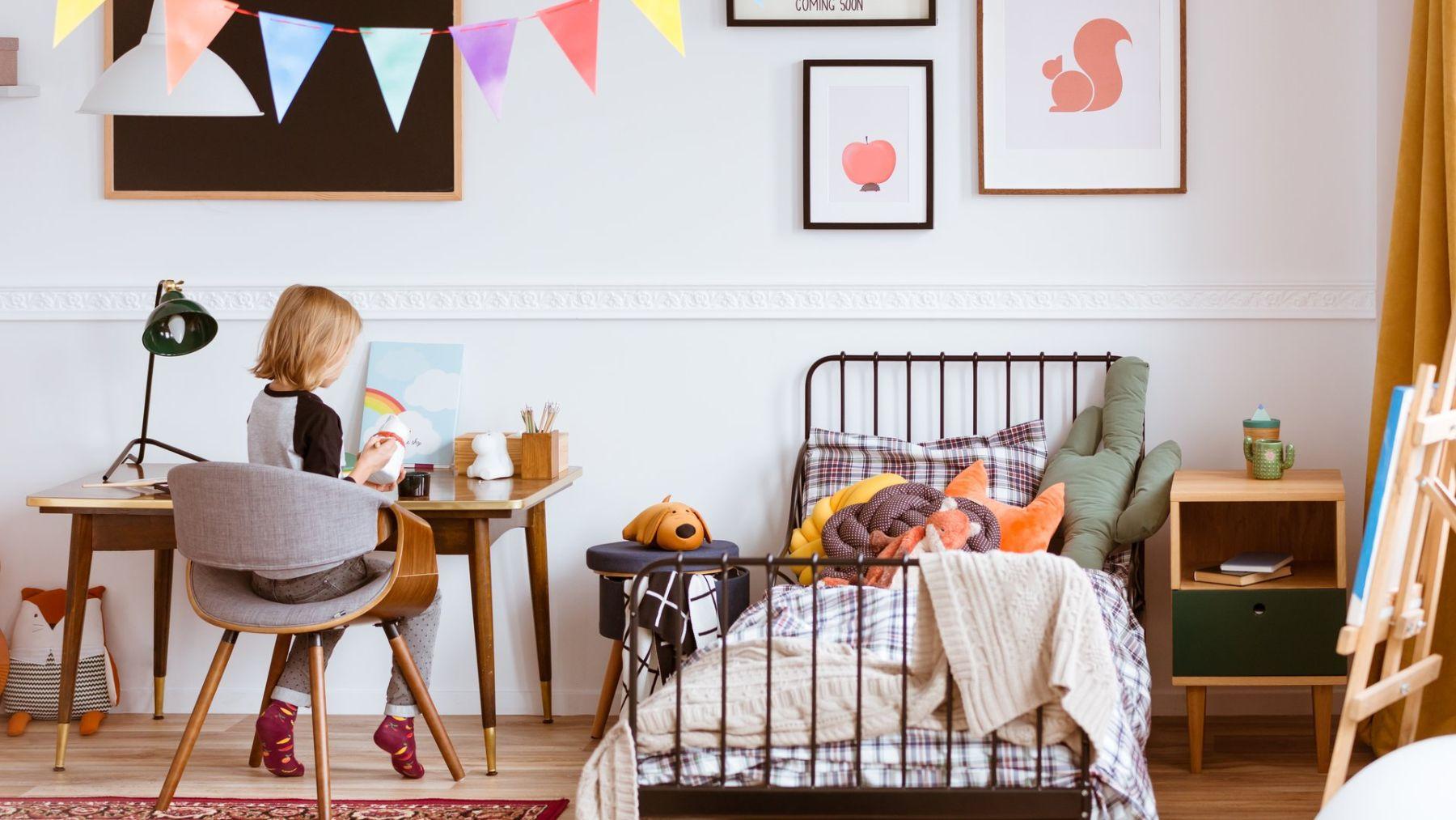 Descubre el truco para que el dormitorio de los niños esté siempre ordenado