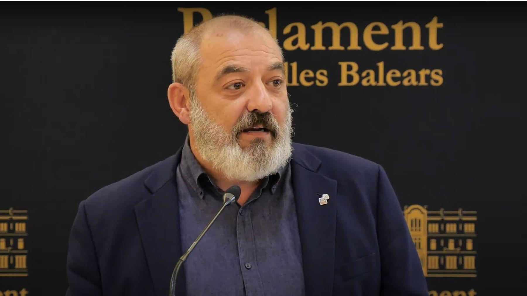 El concejal del Ayuntamiento de Palma y diputado en el Parlament, Sergio Rodríguez.