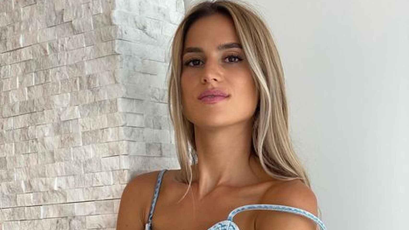 Elena Galera, mujer de Busquets