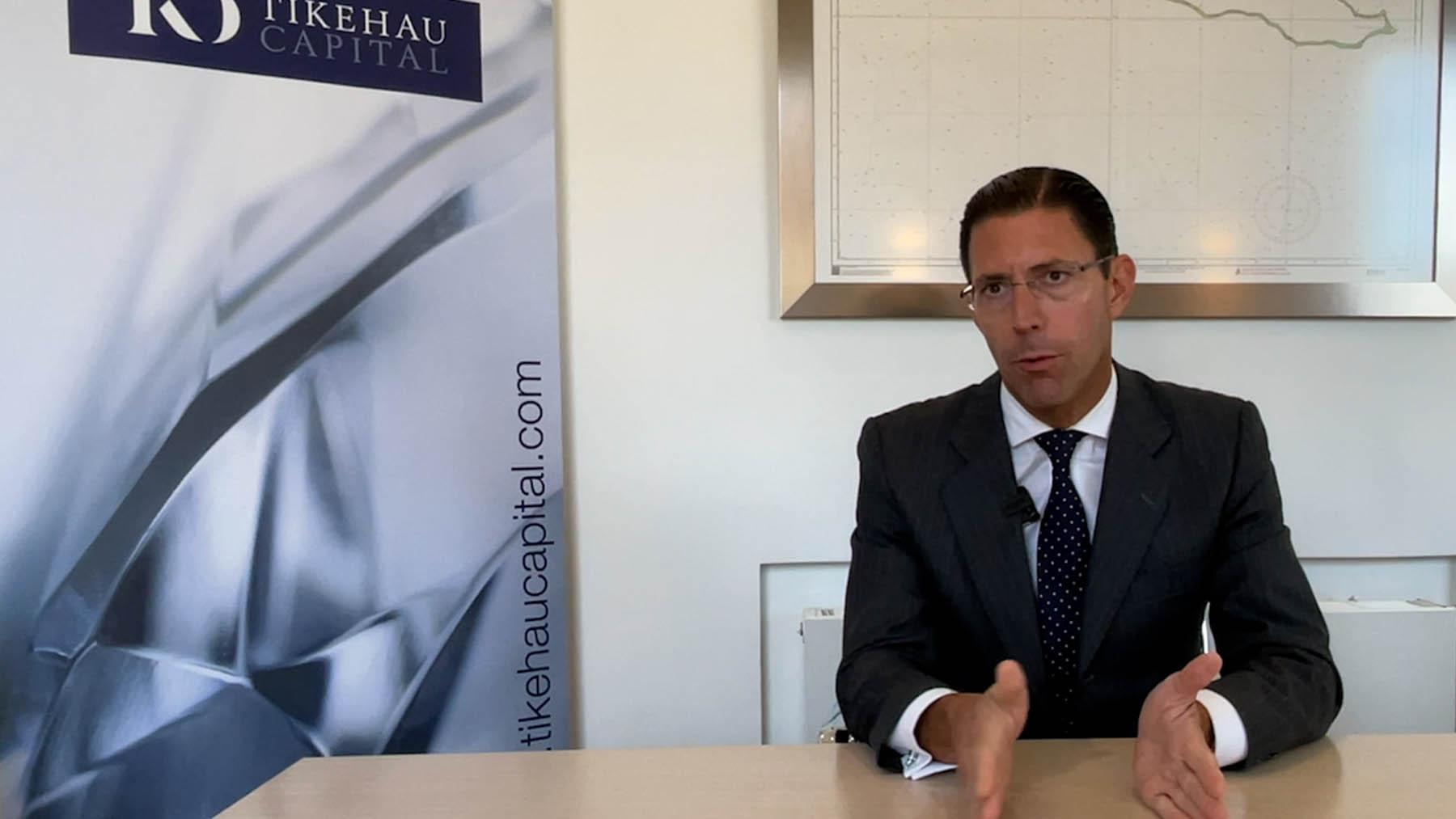 Christian Rouquerol, director de ventas en Iberia de Tikehau Capital.