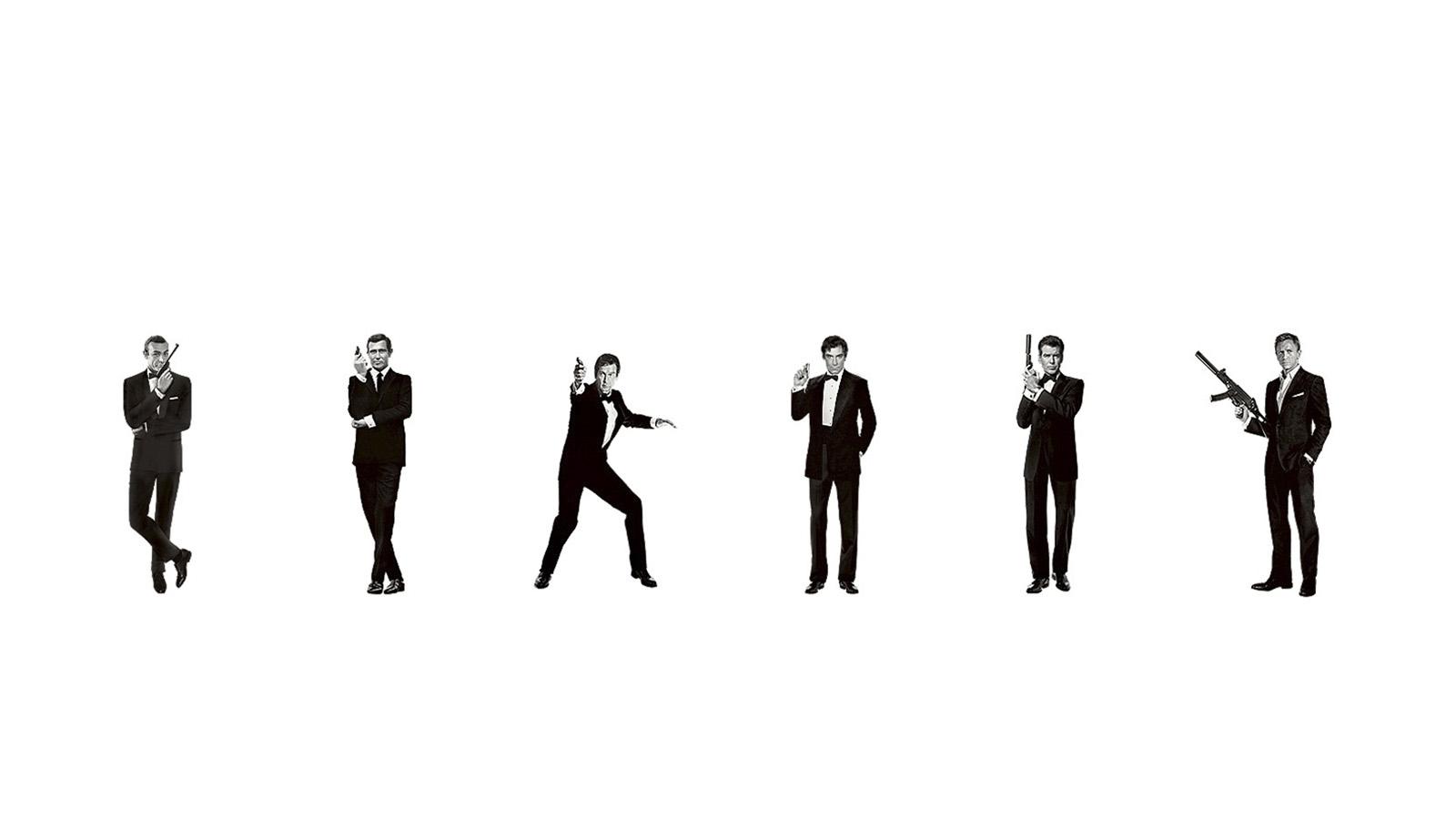 Hasta 6 actores han interpretado al icónico personaje creado por Ian Fleming