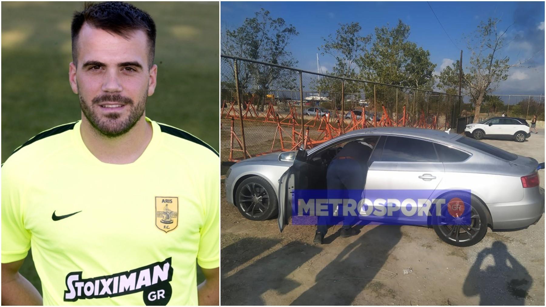 Nikos Tsoumanis y su coche (Metrosport)