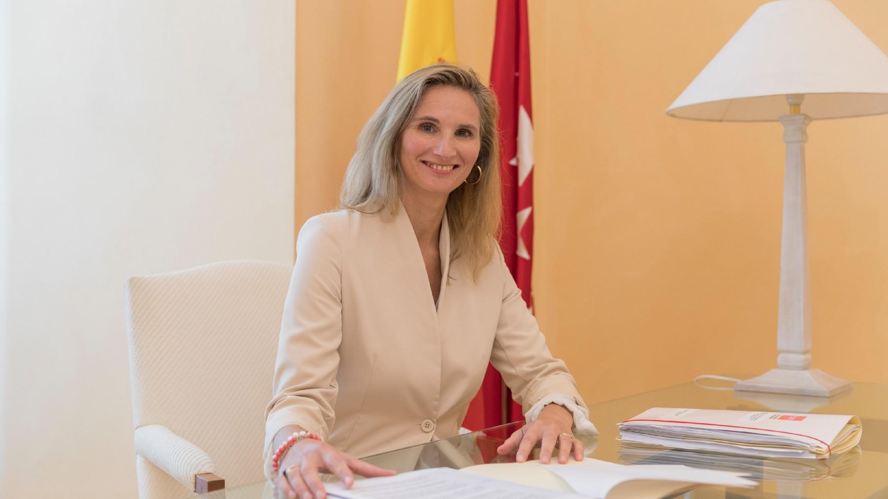 Paloma Martín, consejera de Medio Ambiente, Vivienda y Agricultura de la Comunidad de Madrid.