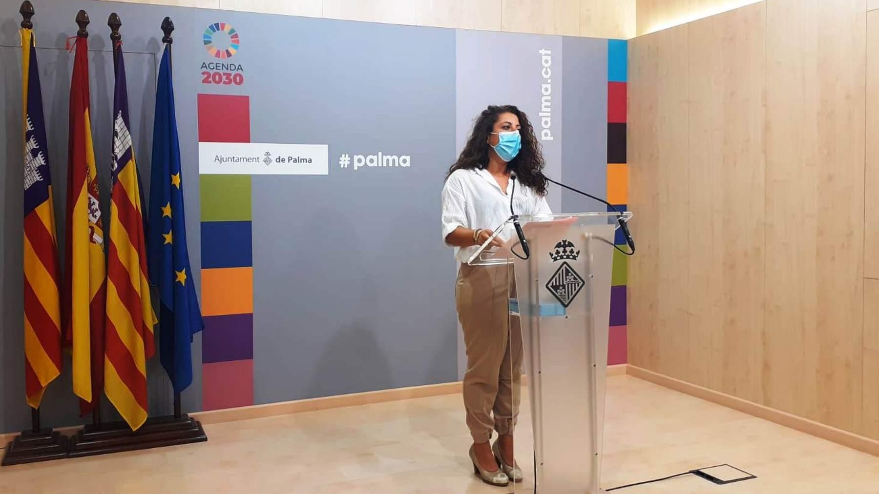 La concejala de Infraestructuras del Ayuntamiento de Palma, Angélica Pastor.